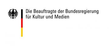 """Logo von """"Die Beauftragte der Bundesregierung für Kultur und Medien""""; Link auf deren Homepage"""